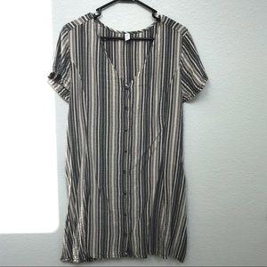 BP brand striped dress